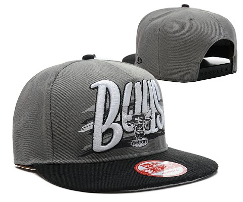 Chicago Bulls NBA Snapback Hat SD15